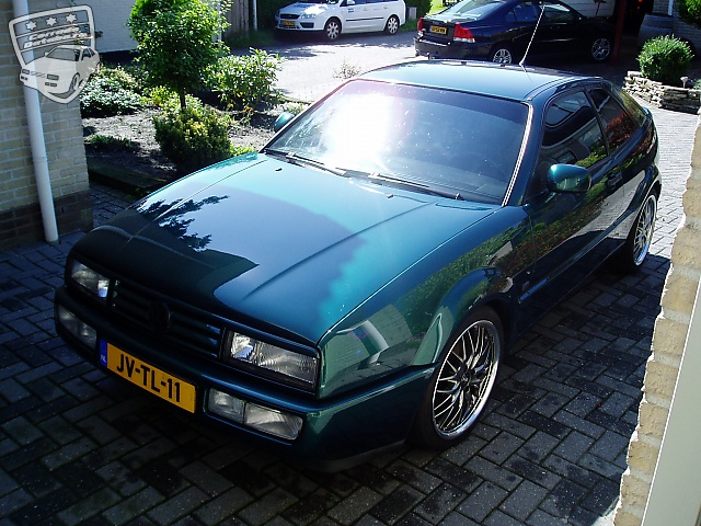 The Corrado of green corrado